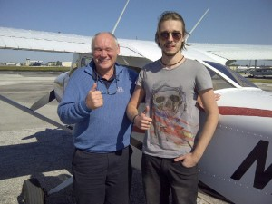 father and son first solo