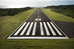 paved runway