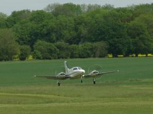 Cessna 421 piston twin