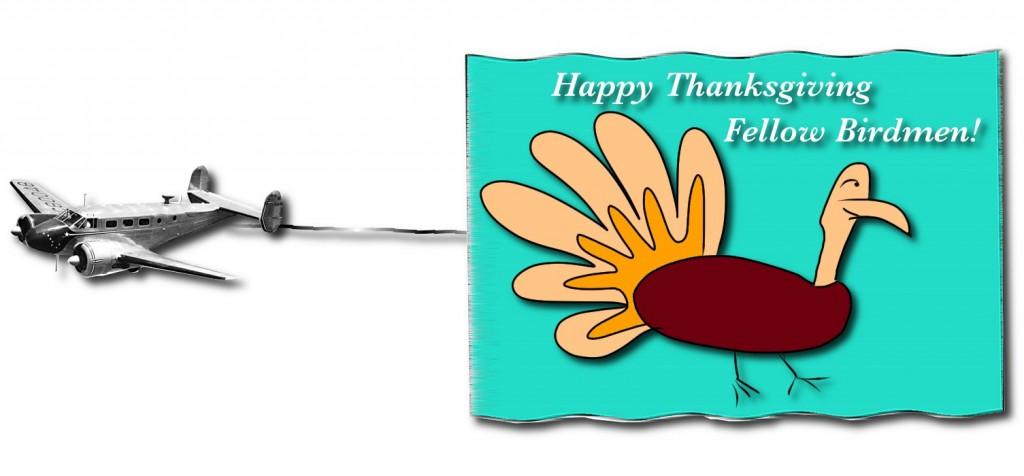 Happy Thanksgiving Fellow Aviators