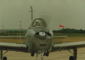 T-34 Taxiing In