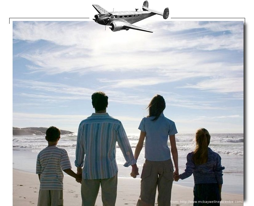 The flying family