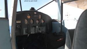 Luscombe cockpit