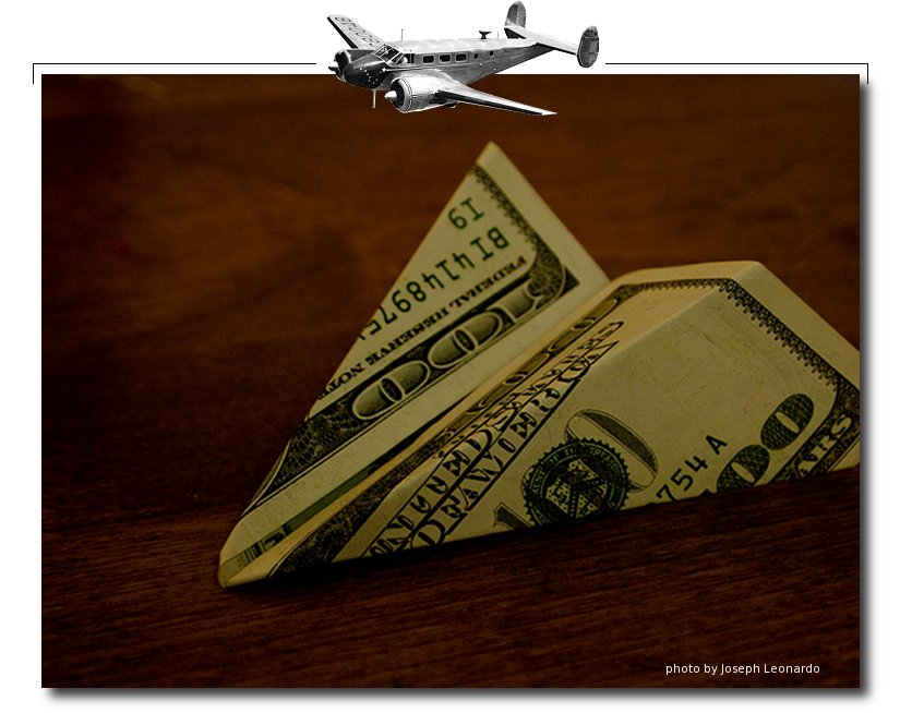 paying for flying