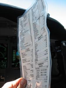 tattered checklist