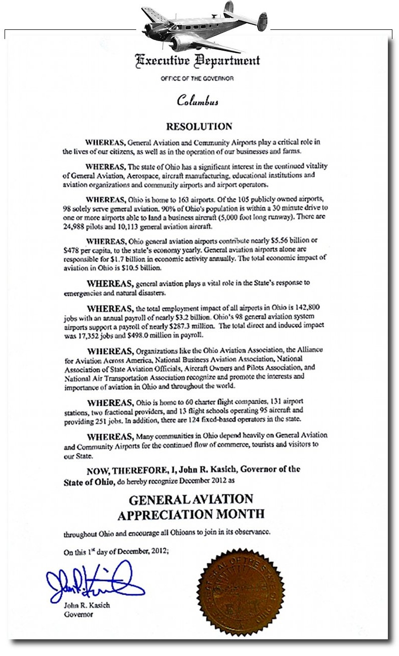 General Aviation Month