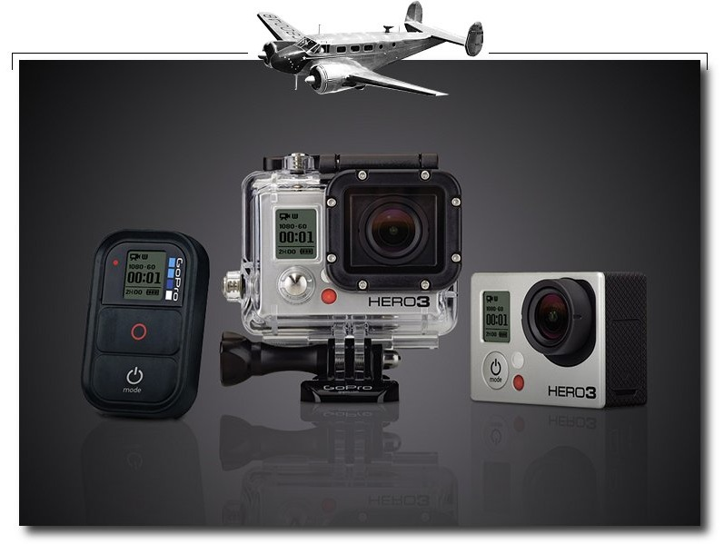 GoPro Here 3 for airplanesxcf