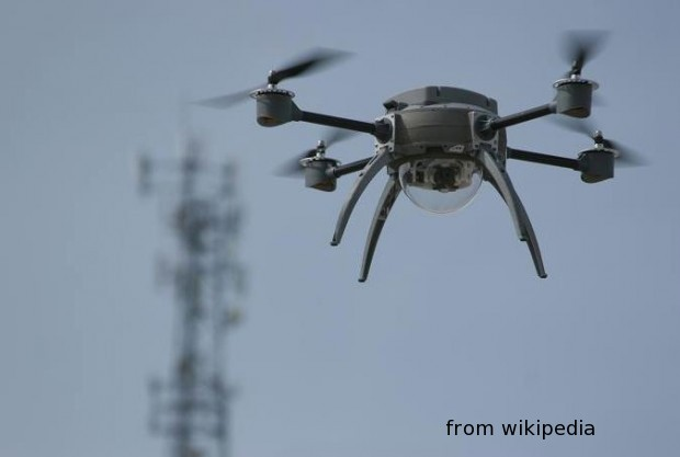 drones patrol airport