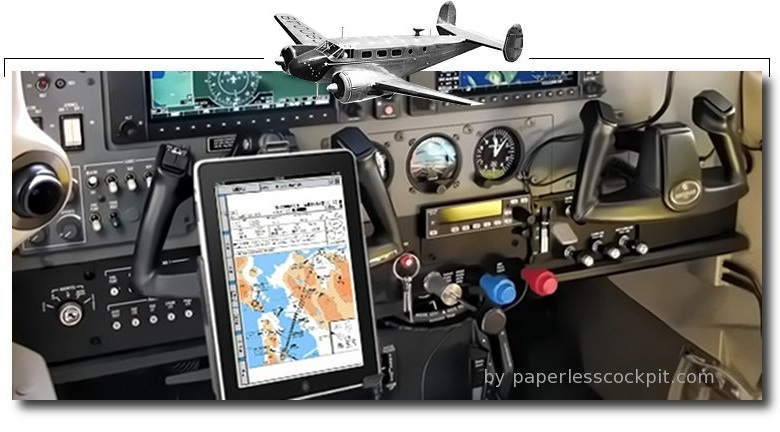 ipad in the cockpit