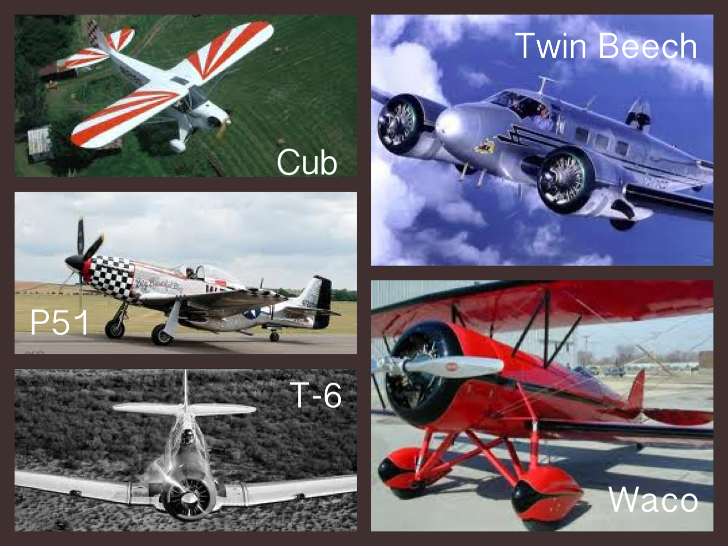 favorite airplanes