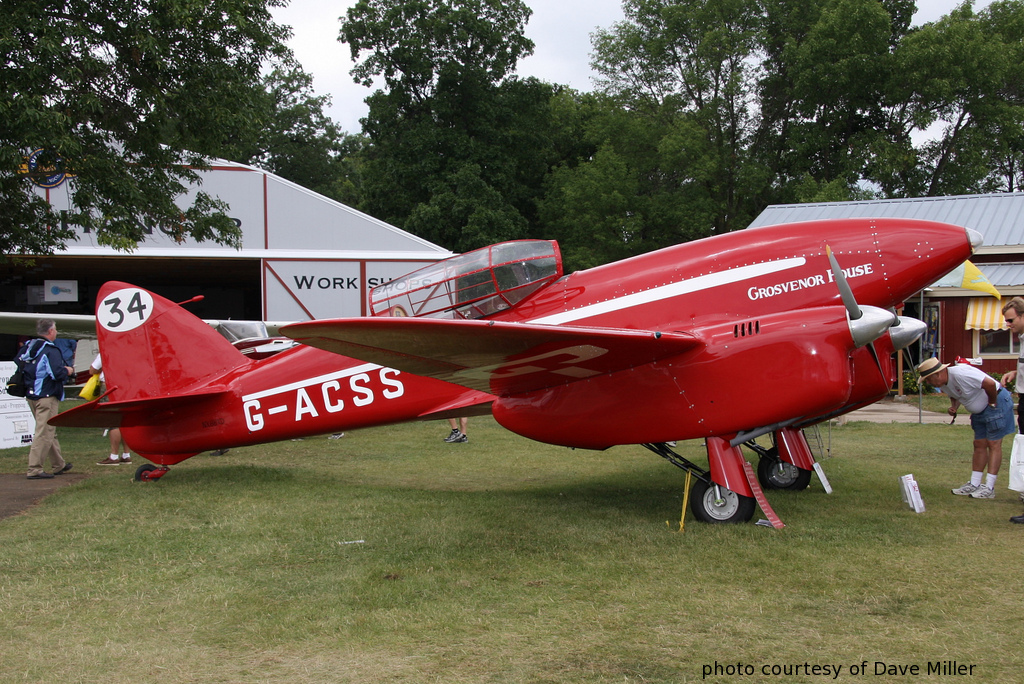 DH 88 Comet at OSH