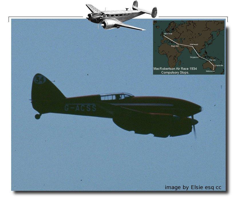 DH88 Comet Racer