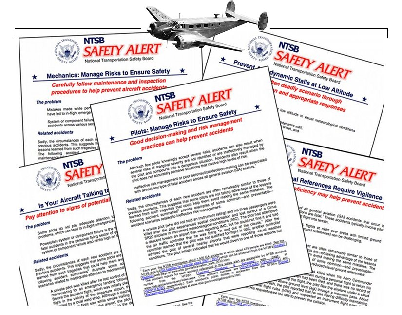 NTSB General Aviation Safety Alerts