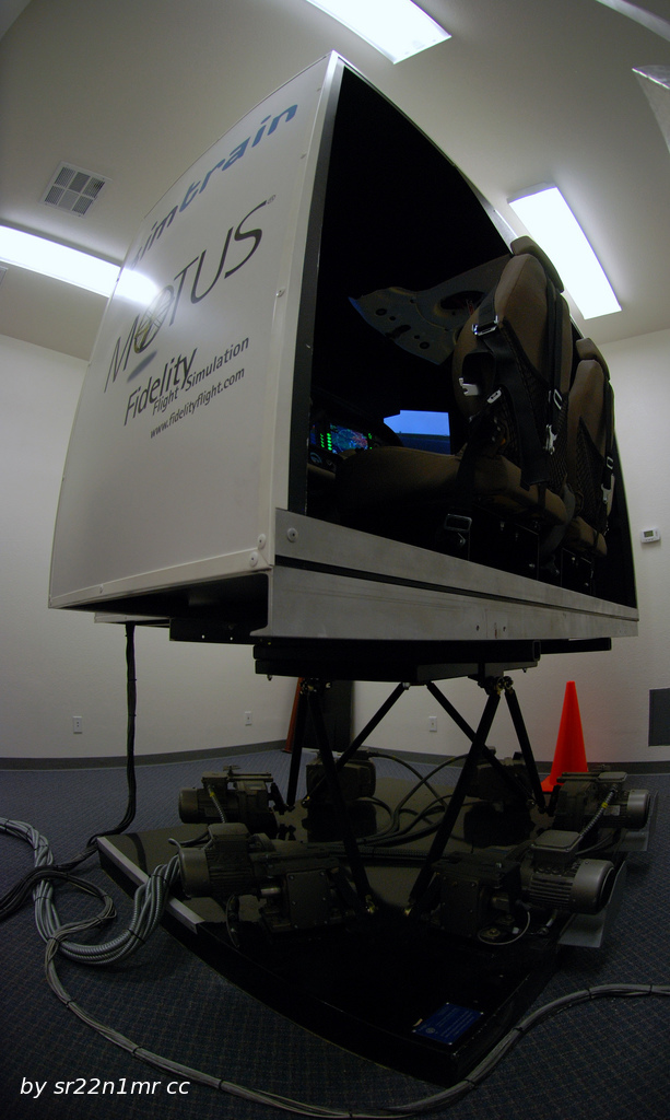 full motion light plane simulator
