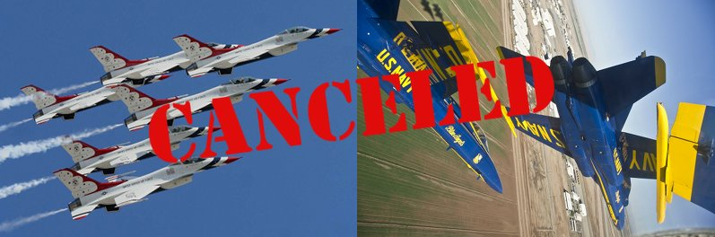canceled airshow