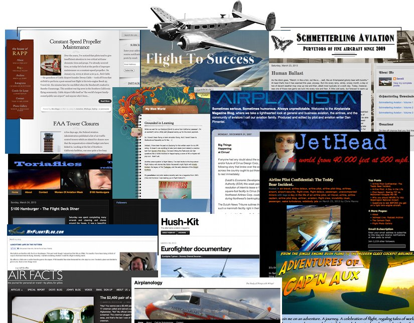 favorite flying blogs