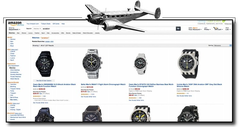 Amazon.com flying