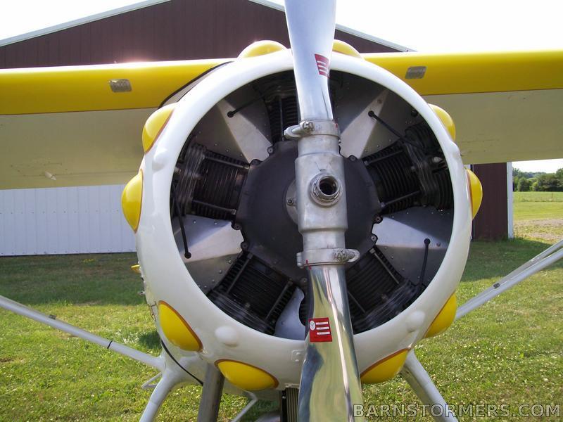 warner engine monocoupe