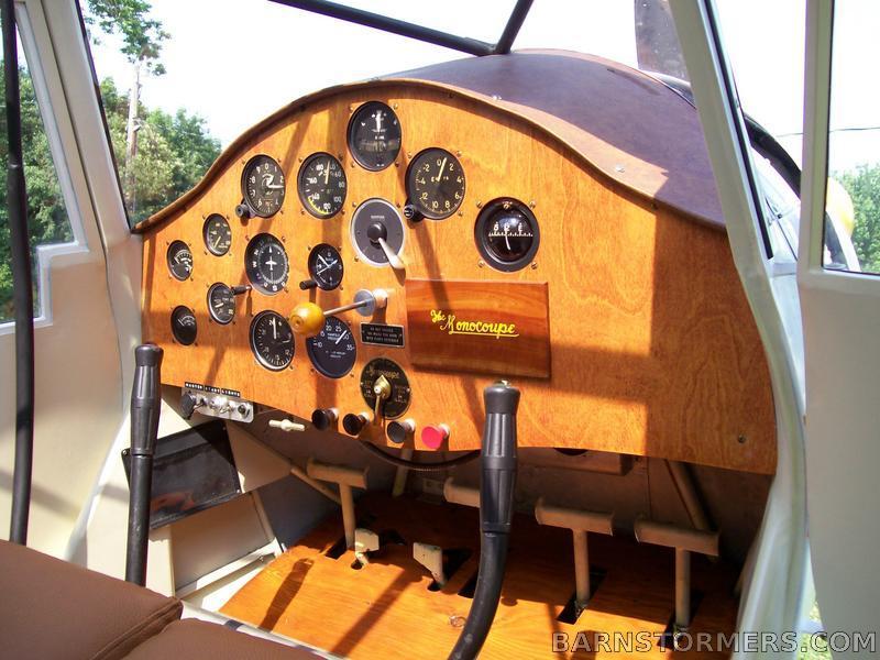 monocoupe cockpit