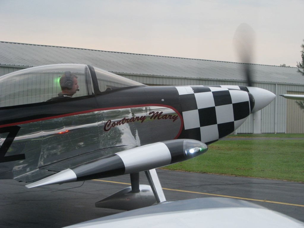 flying the RV-8