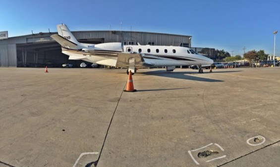 Citation XLS flown by professional pilot