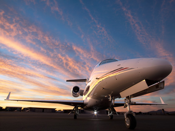 The Phenom 300 Business Jet