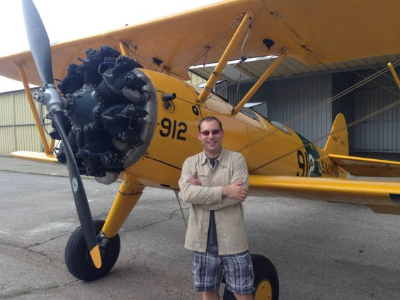 What's it like getting checked out in a Stearman?