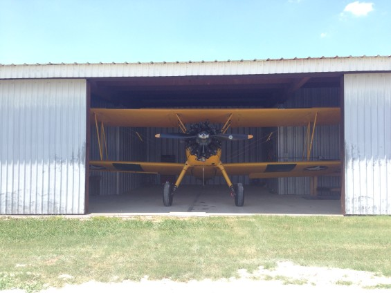 My new Stearman